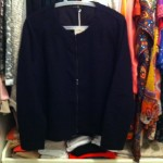Donkerblauw jasje COS
