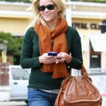 Reese Witherspoons paraty python skin bag