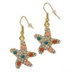 Soho Hearts Starfish oorbellen