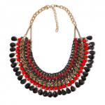 Zara Black & Red