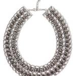 Zara zilverkleuring met steentjes