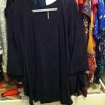 Zwarte blouse COS