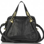 chloe paraty bag black